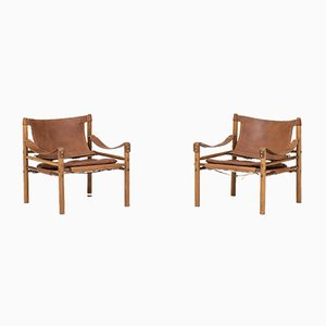 Sirocco Chairs by Arne Norell, 1964, Set of 2