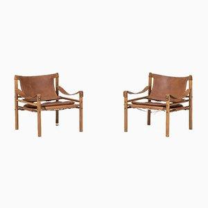 Sirocco Stühle von Arne Norell, 1964, 2er Set
