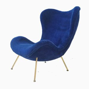 German Madame Lounge Chair by Fritz Neth for Correcta, 1950s