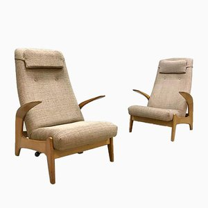 Rock 'n Rest Lounge Chairs by Rolf Rastad & Adolf Relling for Gimson and Slater, 1960s, Set of 2