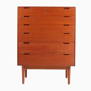 Mid-Century Teak Chest of Drawers by Svend Langkilde for Langkilde, 1960s