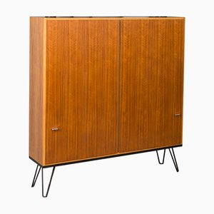 Walnut Shoe Cabinet, 1960s