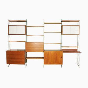 Libreria vintage di Kajsa & Nils Strinning per Design AB Sweden