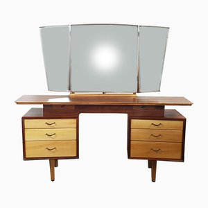 Toeletta con specchio di Alfred Cox per AC Furniture, anni '60