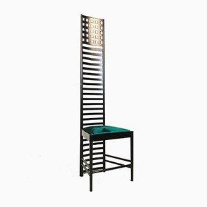 Hill House 1 Stuhl von Charles Rennie Mackintosh für Cassina, 1973