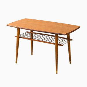Table Basse en Teck, 1950s