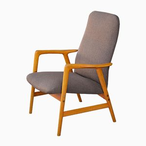Kontur Lowback Lounge Chair by Alf Svensson for Fritz Hansen, 1960s