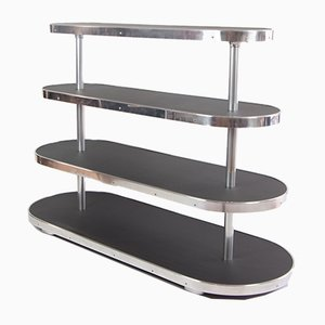 Bauhaus Style Etageren Shelf, 1950s
