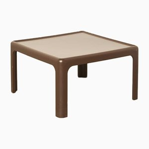 Brown Side Table by Peter Ghyczy for Horn Collection, 1970s