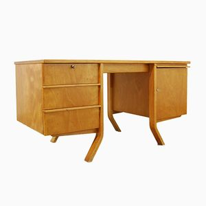 Vintage EB04 Birch Series Desk by Cees Braakman for Pastoe, 1950s
