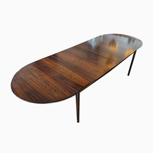Extending Rosewood Table by Arne Vodder, 1960s