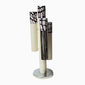 Lampe de Bureau en Trois Parties par Angelo Brotto, Italie, 1970s