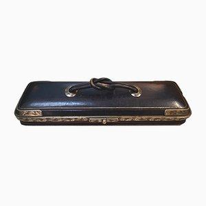 Boîte à Gants Antique Argentée