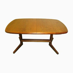 Extending Teak Dining Table, 1960s