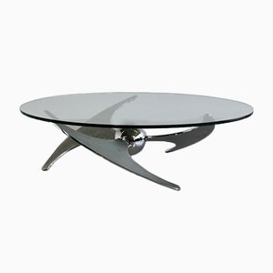 Propeller Coffee Table by Luciano Campanini for Cama, 1970s