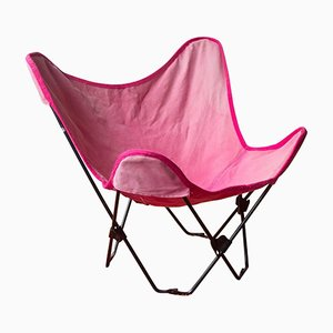 Faltbarer Butterfly Stuhl für Kinder von Jorge Ferrari Hardoy, 1960er