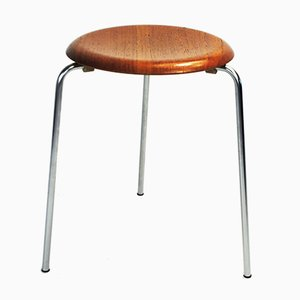 Vintage Dot Stool by Arne Jacobsen for Fritz Hansen, 1950s