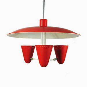 Ceiling Lamp by H. Busquet for Hala Zeist, 1950s