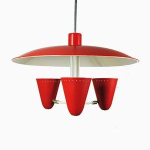 Lampada da soffitto di H. Busquet per Hala Zeist, anni '50