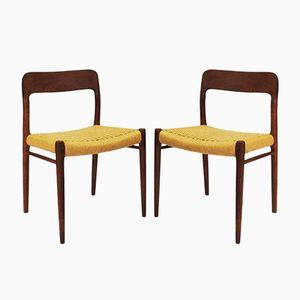 Model 75 Chair by Niels Otto Møller for J.L. Møllers, 1950s