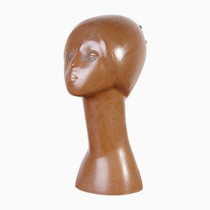 Sculpture de Femme en Céramique de Tekt, 1960s