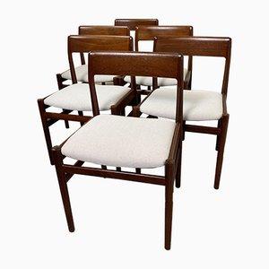 Vintage Esszimmerstühle von Niels Otto Møller, 1960er