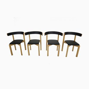 Dining Chairs by Jørgen Gammelgaard for Schiang Møbler, 1970s, Set of 4