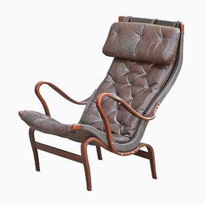 Pernilla Lounge Chair by Bruno Mathsson for Dux, 1976