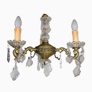 Kleine Lampe aus Bronze, 1920er