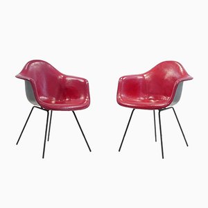 Dax Chairs by Charles & Ray Eames for Herman Miller, 1954, Set of 2