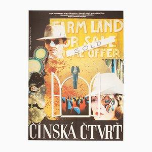 Chinatown Movie Poster by Miroslav Hlaváček, 1976