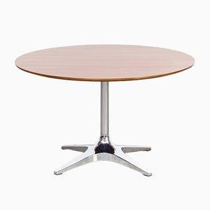 Table Basse Ronde Vintage avec Cadre en Chrome de Kondor