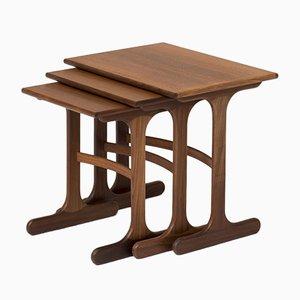 Tavolini ad incastro Fresco di Victor Wilkins per G-Plan, anni '60