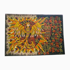 Mid-Century Jour et Nuit Wall Tapestry by Alain Cornic