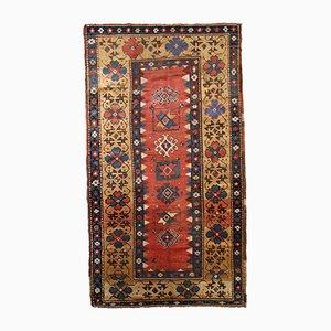 Antiker kaukasischer Kazak Teppich, 1880er