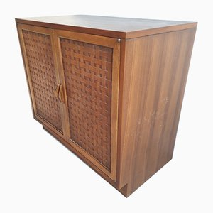 Perception Walnut Cabinet by Warren Church for Lane Furniture, 1960s