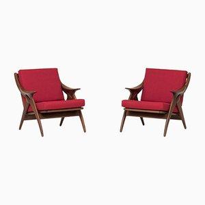 Sessel von De Ster Gelderland, 1960er, 2er Set