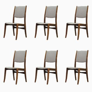 Mid-Century Danish Chairs from Skovby, Set of 6