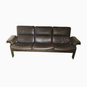 Scandinavian Leather Sofa from Jeki, 1970s