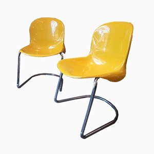 Vintage Catsana Stühle von Pier Luigi Gianfranchi für ICF De Padova, 1970er, 2er Set