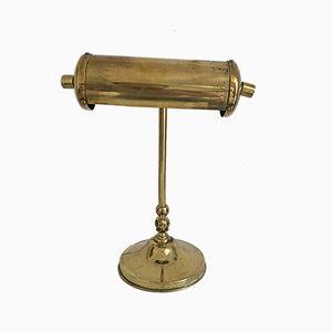 Vintage Brass Desk Lamp, 1950s