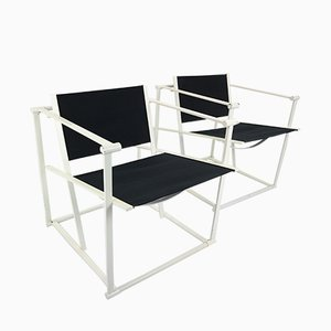 Dutch FM62 Cube Chairs by Radboud van Beekum for Pastoe, 1980s, Set of 2