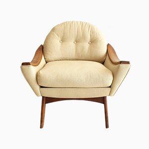 Armlehnstuhl aus Nussholz von Adrian Pearsall für Craft Associates, 1960er