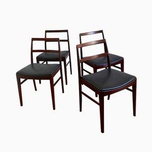 Chaises de Salle à Manger Modèle 430 en Palissandre par Arne Vodder pour Sibast, Danemark, 1960s, Set de 4
