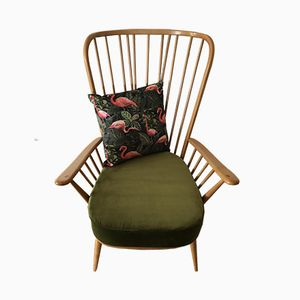 Blonde Evergreen Armchair by Lucian Ercolani for Ercol, 1970s