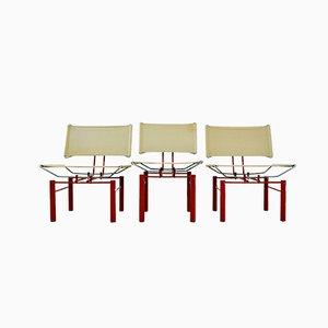 Serie 8600 Sessel und Beistellstuhl von Hans Ulrich Bitsch für Kusch + Co, 1980er, 3er Set