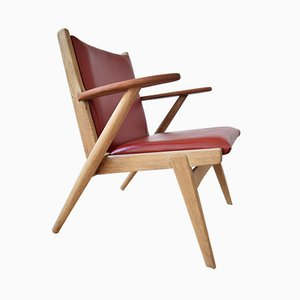 14 Lounge Chair by Arne Wahl Iversen for Hans Hansen & Sons, 1955