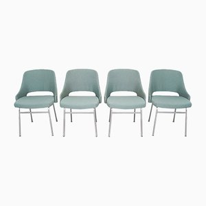 Mid-Century Model FM32 Dining Chairs by Cees Braakman for Pastoe, Set of 4