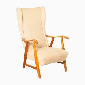 Creme- und beigefarbener Sessel von Gelderland De Ster, 1950er