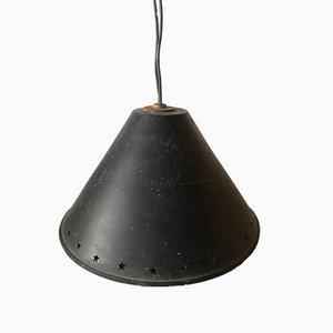 Lampe à Suspension Vintage en Métal Émaillé par René Mathieu, France